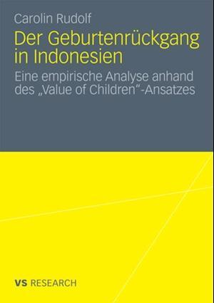 Der Geburtenruckgang in Indonesien af Carolin Rudolf