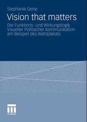Vision that matters af Stephanie Geise