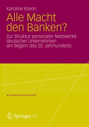 Alle Macht den Banken? af Karoline Krenn
