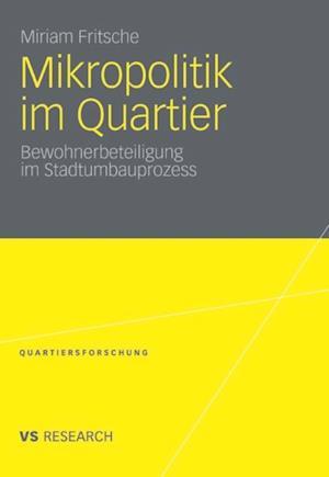 Mikropolitik im Quartier af Miriam Fritsche