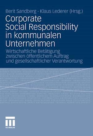 Corporate Social Responsibility in kommunalen Unternehmen