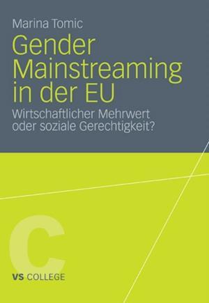Gender Mainstreaming in der EU af Marina Tomic