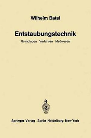 Entstaubungstechnik. af Wilhelm Batel