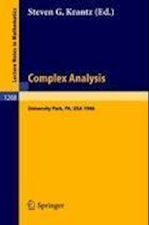 Complex Analysis af Steven G. Krantz