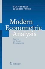 Modern Econometric Analysis af Joachim Frohn, Olaf Hubler
