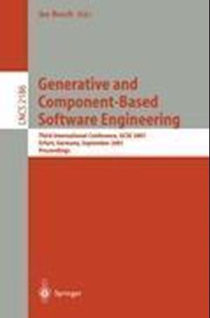 Generative and Component-based Software Engineering af Jan Bosch
