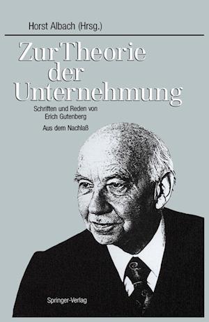 Zur Theorie Der Unternehmung af Horst Albach