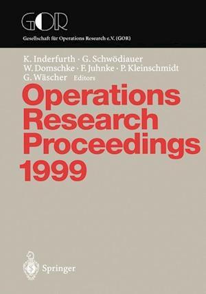 Operations Research Proceedings 1999 af Karl Inderfurth