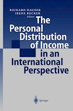 The Personal Distribution of Income in an International Perspective af Richard Hauser, R. Hauser, I. Becker