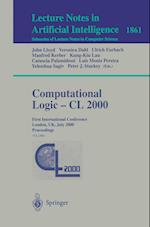 Computational Logic-CL 2000 (Lecture Notes in Computer Science: Lecture Notes in Artificial Intelligence, nr. 1861)