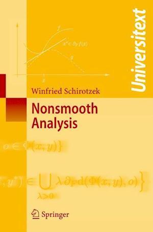 Nonsmooth Analysis af Winfried Schirotzek