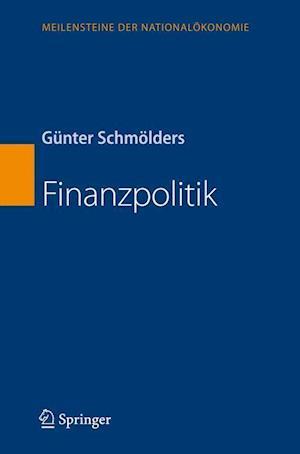 Finanzpolitik af Gunter Schmolders, Gunter Schmalders, G??nter Schm??lders