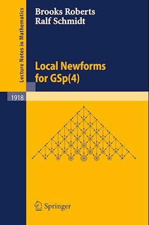 Local Newforms for GSP(4) af Ralf Schmidt