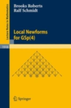 Local Newforms for GSp(4) af Brooks Roberts, Ralf Schmidt