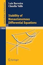 Stability of Nonautonomous Differential Equations af Claudia Valls, Luis Barreira