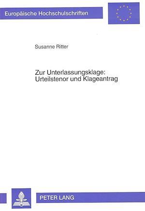 Zur Unterlassungsklage af Susanne Ritter