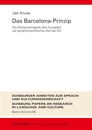Das Barcelona-Prinzip af Jan Kruse