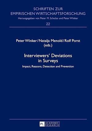 Interviewers' Deviations in Surveys af Peter Winker