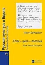 Стих - цикл - поэтика (Russian Culture in Europe, nr. 12)