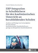 Erp-Integration in Schulbuechern Fuer Den Kaufmaennischen Unterricht an Berufsbildenden Schulen