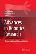 Advances in Robotics Research af Wahl