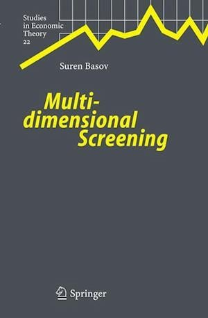 Multidimensional Screening af Suren Basov