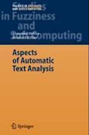 Aspects of Automatic Text Analysis af Reinhard Kohler, Alexander Mehler