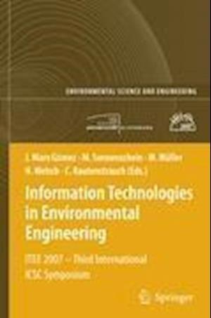 Information Technologies in Environmental Engineering af Claus Rautenstrauch, Heinz Welsch, Michael Sonnenschein