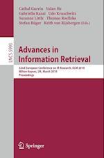 Advances in Information Retrieval af Gabriella Kazai, Udo Kruschwitz, Stefan Ruger