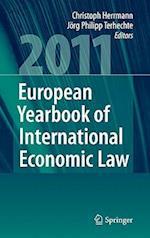 European Yearbook of International Economic Law af Jorg Philipp Terhechte, Christoph Herrmann