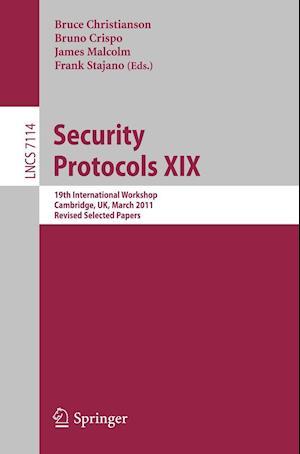 Security Protocols af Bruce Christianson, Bruno Crispo, Frank Stajano