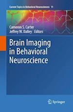 Brain Imaging in Behavioral Neuroscience (Current Topics in Behavioral Neurosciences, nr. 11)