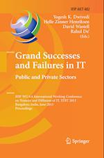 Grand Successes and Failures in IT: Public and Private Sectors af Yogesh K. Dwivedi