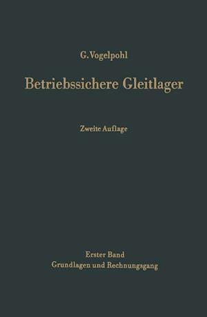 Betriebssichere Gleitlager af Georg Vogelpohl