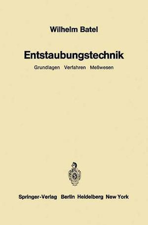 Entstaubungstechnik af Wilhelm Batel