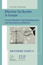 Effective Tax Burden in Europe af Otto H. Jacobs