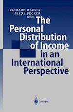 The Personal Distribution of Income in an International Perspective af Richard Hauser