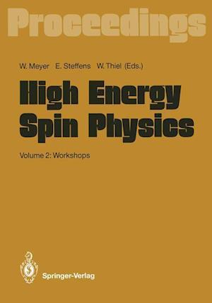 High Energy Spin Physics af Werner Meyer