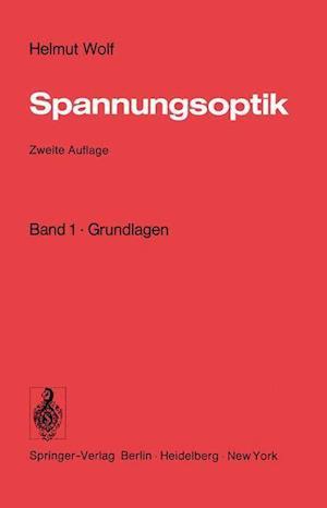 Spannungsoptik af Helmut Wolf