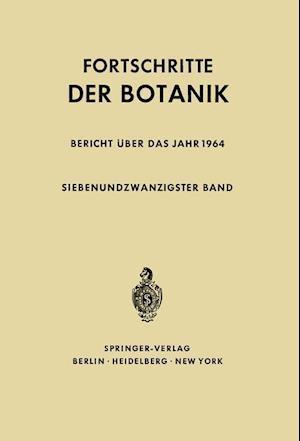 Fortschritte Der Botanik af Heinz Ellenberg, Karl Esser, Hermann Merxmuller