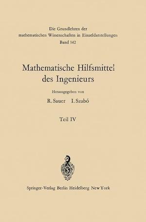 Mathematische Hilfsmittel des Ingenieurs af Wolfgang Hahn