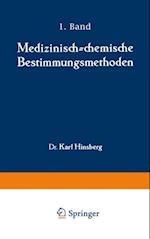 Medizinisch-chemische Bestimmungsmethoden af Karl Hinsberg