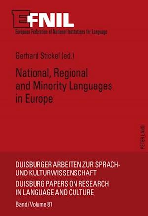 National, Regional and Minority Languages in Europe af Gerhard Stickel