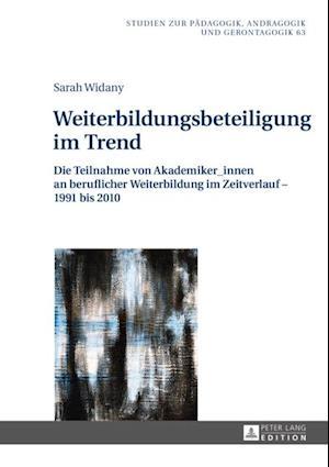 Weiterbildungsbeteiligung im Trend af Sarah Widany