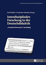 Interdisziplinaere Forschung in der Deutschdidaktik af Iris Winkler, Frederike Schmidt