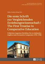Die erste Schrift zur Vergleichenden Erziehungswissenschaft/The First Treatise in Comparative Education af Volker Lenhart