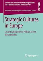 Strategic Cultures in Europe af Bastian Giegerich