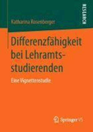 Differenzfahigkeit Bei Lehramtsstudierenden af Katharina Rosenberger