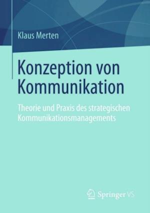 Konzeption von Kommunikation af Klaus Merten