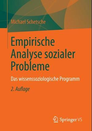Empirische Analyse sozialer Probleme af Michael Schetsche